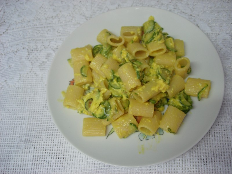 Maccheroni e zucchine 004