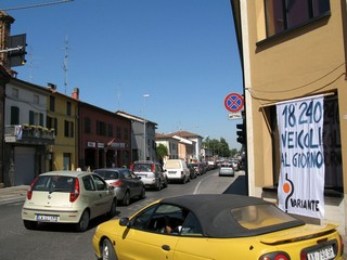 Castel Bolognese - La via Emilia
