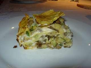 Lasagne al forno con verdure di stagione