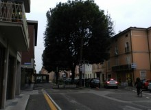 Piazza Fanti, oggi.