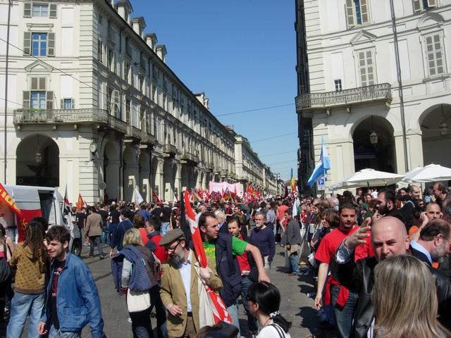 Primo maggio a Torino