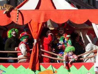 Maschere al carnevale Castellano