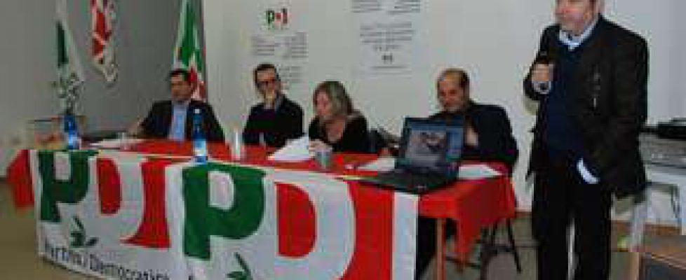 Congresso del Pd di Castel Bolognese