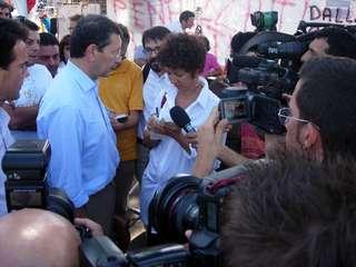 Il senatore Ignazio Marino