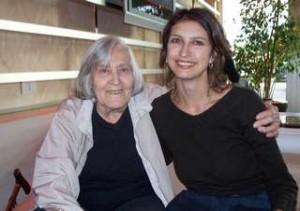 Serena Fagnocchi e Margherita Hack