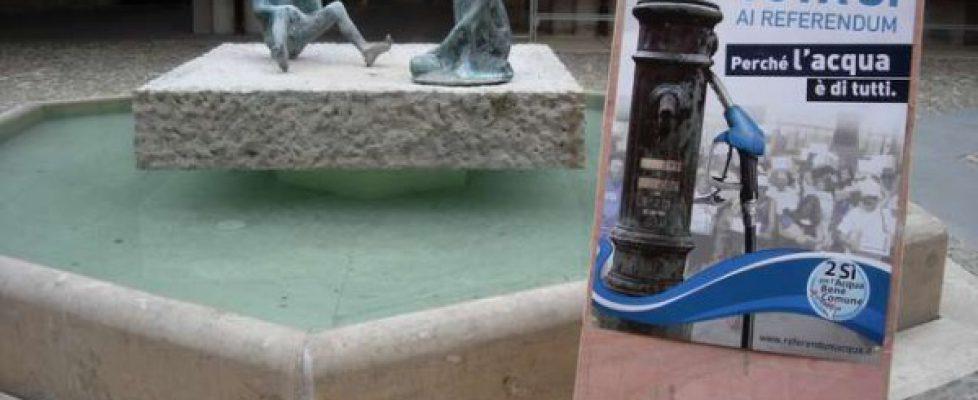 SI per l'acqua pubblica