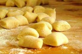 Gnocchi di patata allo scalogno