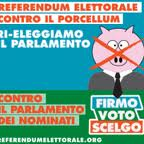 Firme per il referendum elettorale