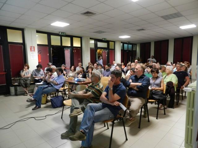 Sala piena per parlare di biomasse a Castel Bolognese
