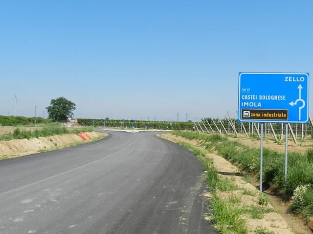 Viabilità a nord della via Emilia