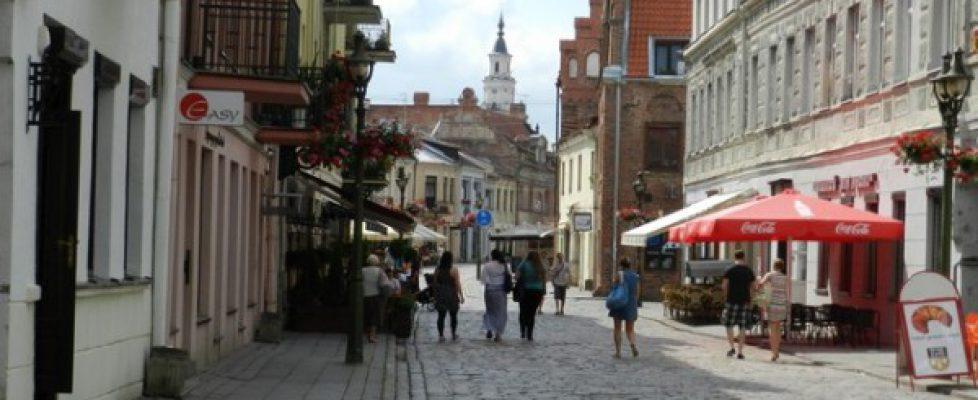 Visita nelle capitali baltiche, Trakai e Kaunas