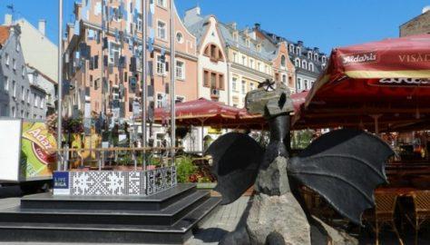 Visita nelle capitali baltiche, Lettonia e Riga