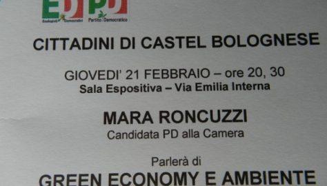 Castel Bolognese, si parla di ambiente e green economy