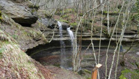 La cascata dell