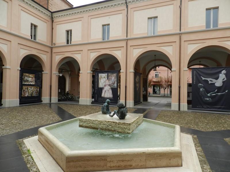 Castel Bolognese - Chiostro comunale