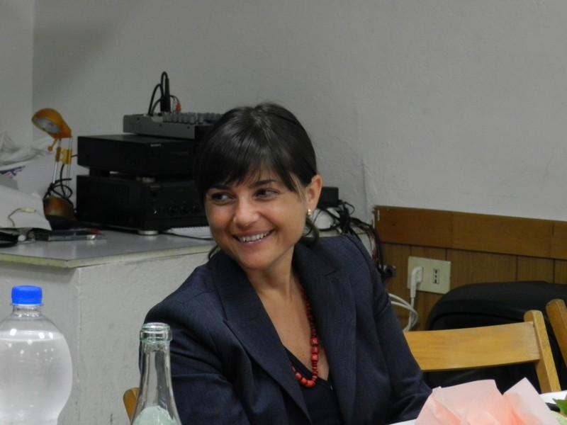Debora Serracchiani a Castel Bolognese