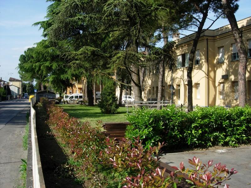 Castel Bolognese - Parco dell'ex ospedale (Foto del 2010)
