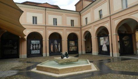 Vastel Bolognese - Chiostro del Palazzo comuale
