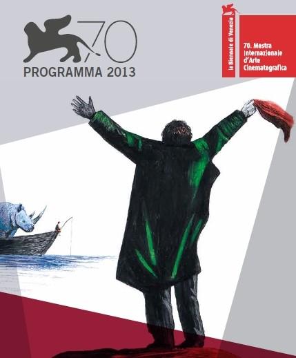 Copertina Mostra cinema Venezia 2013
