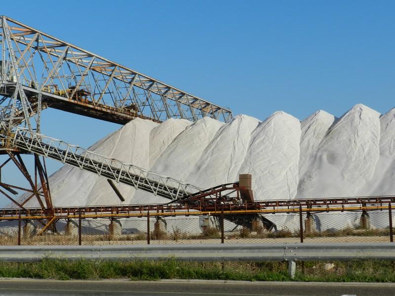 Margherita di Savoia - Il deposito del sale