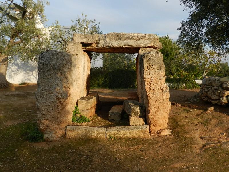 Il dolmen di Pisco Marano