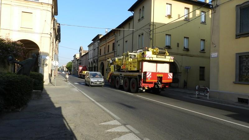 Castel Bolognese - Via Emilia