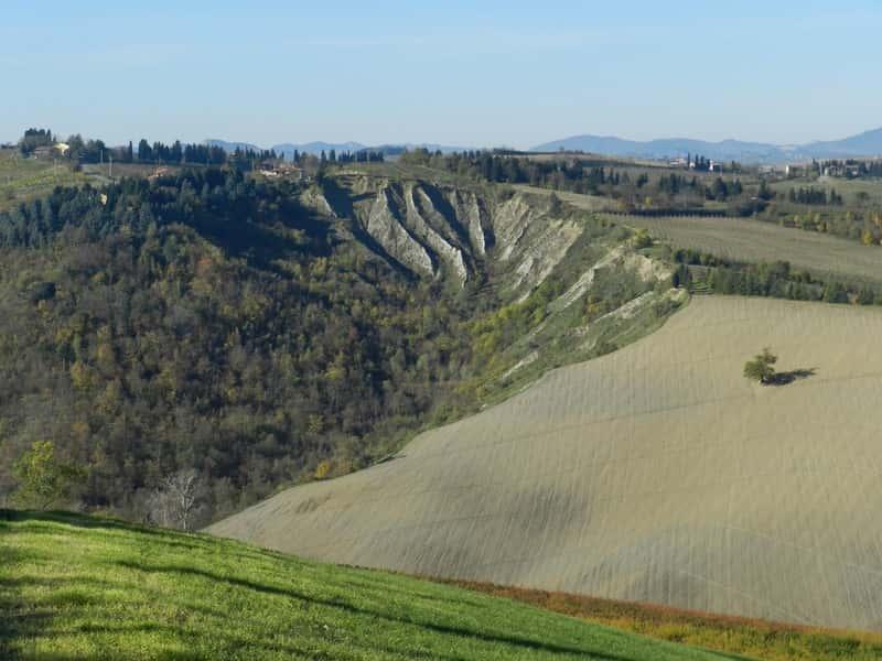 Riolo Terme - Veduta da monte Ghebbio