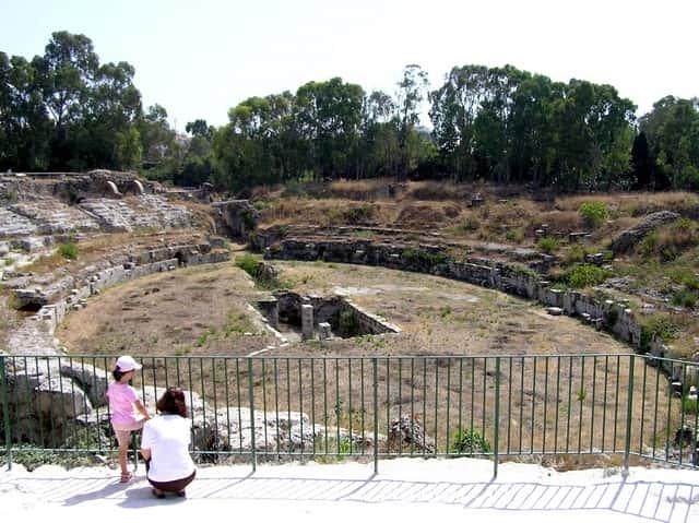 Siracusa - Teatro romano