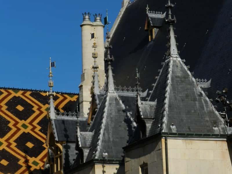 Beaune - Tetto Hotel Dieu (particolare)