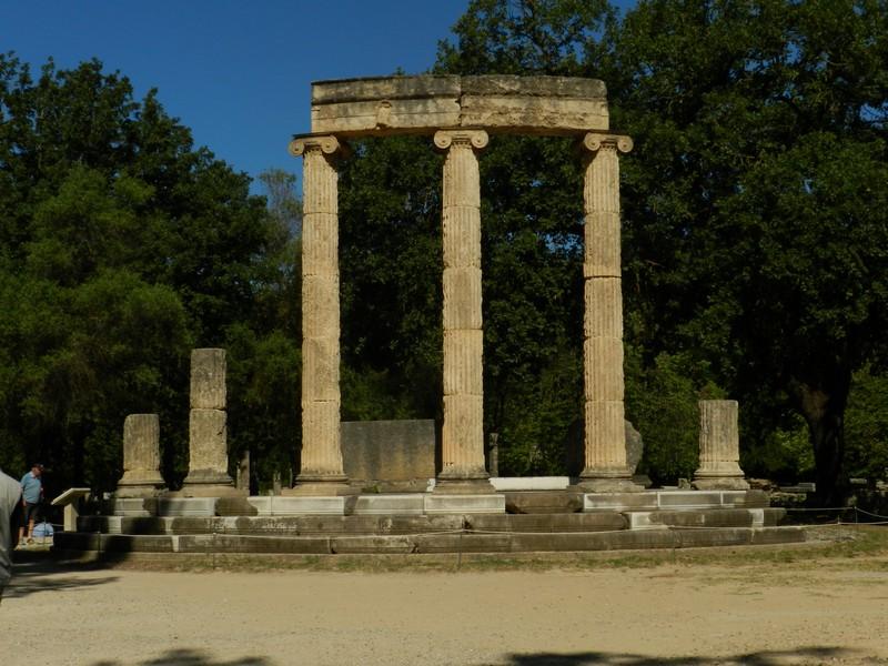 Olimpia - Tempietto a Philippeion