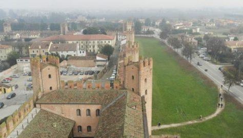 Montagnana - La cinta muraria