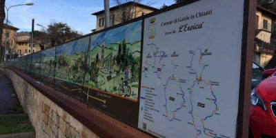 Pallaio e pallisti nella terra del Chianti